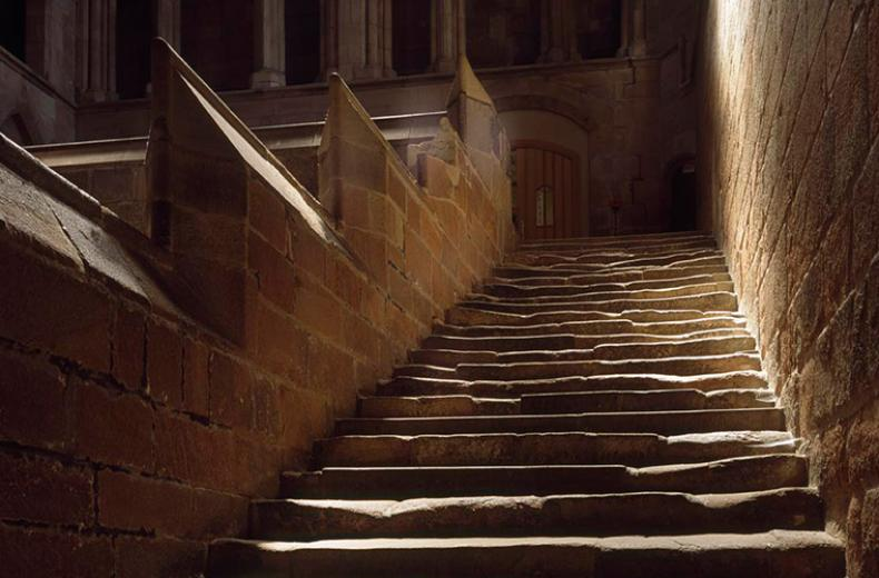 The Night Stair Hexham Abbey